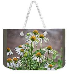 White And Wonderful Weekender Tote Bag