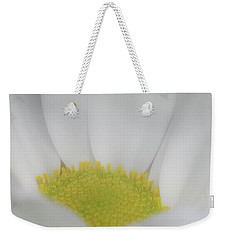 Weekender Tote Bag featuring the photograph White Angel by Roy McPeak