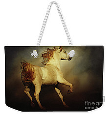 White Arabian Horse With Long Beautiful Mane Weekender Tote Bag