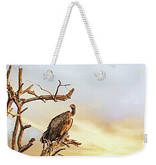 White-backed Vulture Weekender Tote Bag
