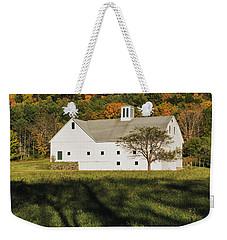 White Barn In Color Weekender Tote Bag