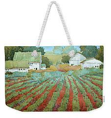 White Barns In Virginia Weekender Tote Bag