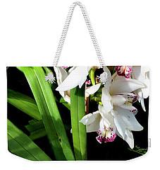 White Elegance Weekender Tote Bag