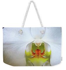 White Beauty Weekender Tote Bag by Lehua Pekelo-Stearns