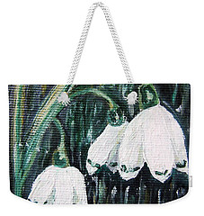 White Bells Weekender Tote Bag