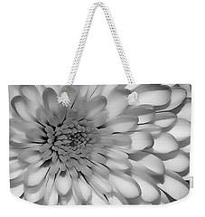 White Bloom Weekender Tote Bag