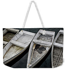 White Boats Weekender Tote Bag