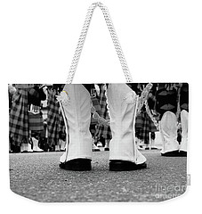 White Boots  Weekender Tote Bag