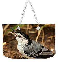 White Breasted Nuthatch 2 Weekender Tote Bag
