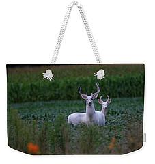 White Bucks Weekender Tote Bag
