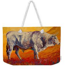 White Bull Weekender Tote Bag