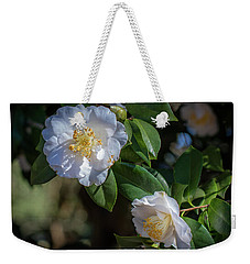 White Camelia 02 Weekender Tote Bag by Gregory Daley  PPSA