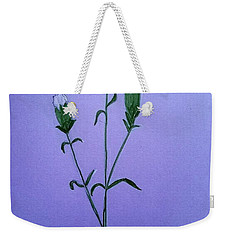 White Carnations Weekender Tote Bag