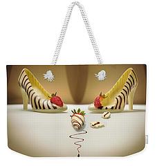 White Chocolate High Heels Weekender Tote Bag