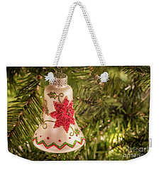 White Christmas Ornament Weekender Tote Bag