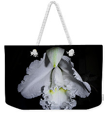 Weekender Tote Bag featuring the photograph White Cloud by Judy Hall-Folde