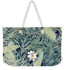 White Cosmo Weekender Tote Bag