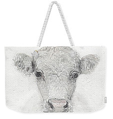 White Cow Weekender Tote Bag