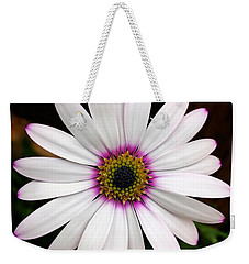 White Daisy Weekender Tote Bag