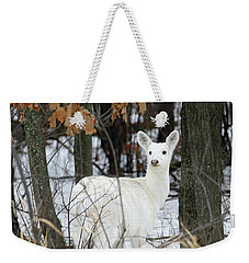 White Deer Vistor Weekender Tote Bag