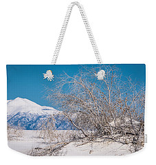 White Desert Weekender Tote Bag