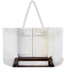 White Door Weekender Tote Bag by Derek Dean