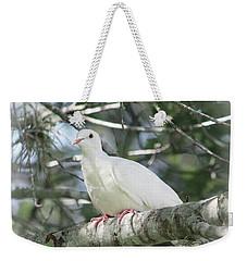 White Dove Messenger Weekender Tote Bag