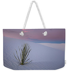 Weekender Tote Bag featuring the photograph White Dunes by Edgars Erglis