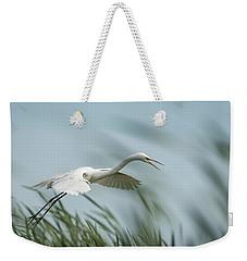 White Egret 2016-2 Weekender Tote Bag