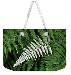 White Fern Weekender Tote Bag