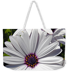 White Flower 1 Weekender Tote Bag