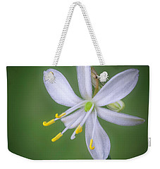 White Flower Weekender Tote Bag