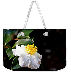 White Flower-so Silky And White Weekender Tote Bag