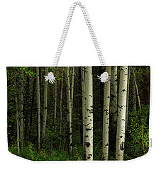 Weekender Tote Bag featuring the photograph White Forest by James BO Insogna