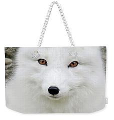 White Fox Weekender Tote Bag