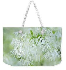White Fringetree Weekender Tote Bag