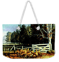 White Gate Weekender Tote Bag
