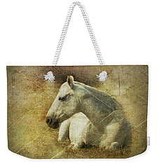 White Horse Art Weekender Tote Bag
