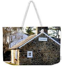 White Horse, Pennsylvania Blacksmith Shop Weekender Tote Bag