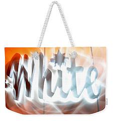 White Hot Weekender Tote Bag