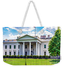 White House Weekender Tote Bag by Anthony Baatz