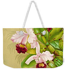 White House Orchid 1892 Weekender Tote Bag by Padre Art