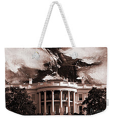 White House Washington Dc Weekender Tote Bag by Gull G