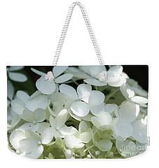 White Hydrangea II Weekender Tote Bag