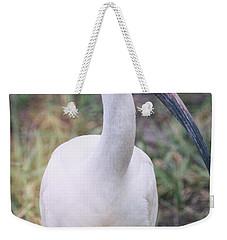 White Ibis In The Morning Light  Weekender Tote Bag by Saija  Lehtonen