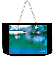 White Ice Weekender Tote Bag