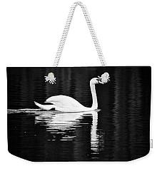 White In Black  Weekender Tote Bag by Teemu Tretjakov