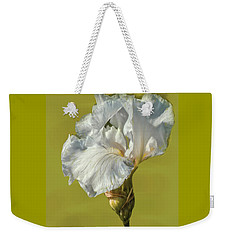 White Iris June 2016 Artistic.  Weekender Tote Bag
