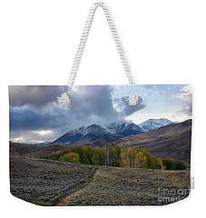 White Knob Mountains Weekender Tote Bag