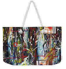 White Lies, Yellow Teeth Weekender Tote Bag